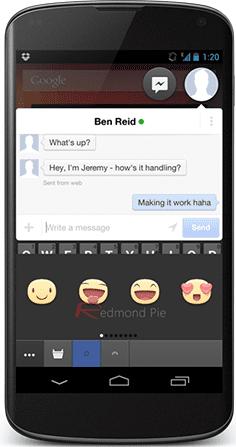 Fitur Stiker Facebook Messenger 3