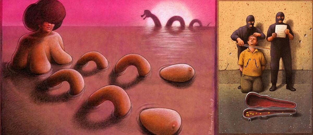 25+ Ilustrasi Menyedihkan yang Menyindir Kehidupan Modern Masa Kini (Part 5)