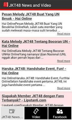 Tips Untuk Mendapatkan Berita Dan Video Terbaru JKT48 1