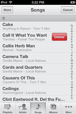 Cara Menghapus Lagu Di Ipod Touch 3