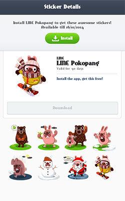 Download Kedua Game LINE Ini%20dan Dapatkan Sticker Lucu Gratis 2