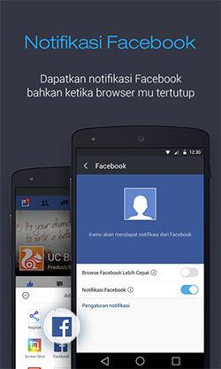 Uc Browser Menghadirkan Notifikasi Facebook Secara Real Time