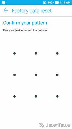 Cara Menghapus Aplikasi Android Reset 3