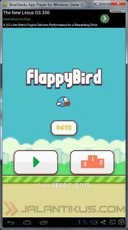 Sekarang Flappy Bird Sudah Bisa Dimainkan Di Pc 6