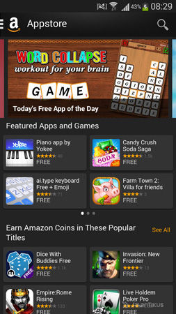 Cara Install Amazon Appstore Di Android 4