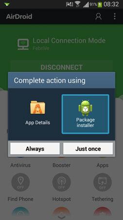 Cara Install Aplikasi Di Smartphone Android Melalui Pc 8