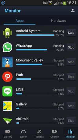 Baterai Smartphone Hemat Dengan Aplikasi Du Battery Saver 5