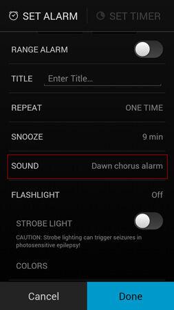 Cara Pakai Alarm Clock Android 2