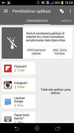 Hemat Kuota Mobile Data Vs Wifi Opera Max 3
