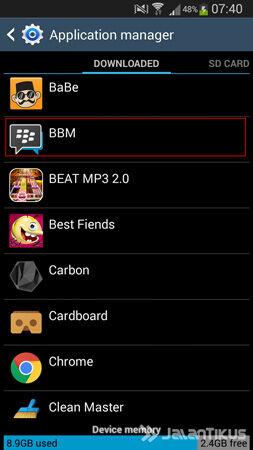 Solusi Aplikasi Bbm Terhenti Otomatis 2