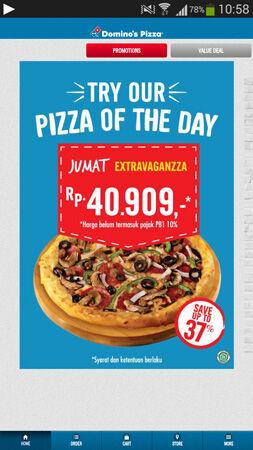 Pesan Pizza Pakai Aplikasi Domino Pizza 3