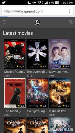 Cara Download Film Ganool Android 7