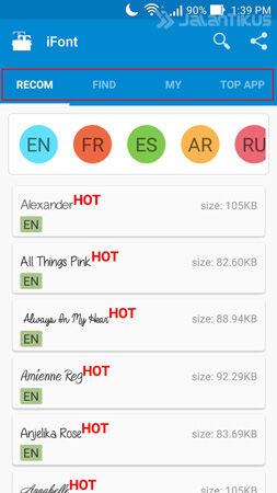 Cara Ganti Font Android Tanpa Root 1
