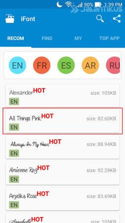 Cara Ganti Font Android Tanpa Root 2
