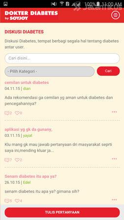 Cara Mudah Deteksi Diabetes Lewat Android 5