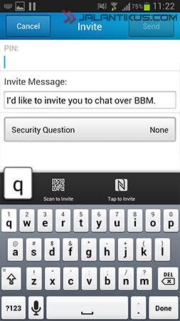 5 Cara Invite Teman Di BBM For Android 2