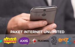 Daftar Harga Paket Internet Unlimited Oktober 2018