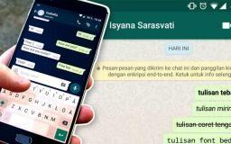 7 Cara Membuat Tulisan Unik di WhatsApp (Bold, Italic, dll)