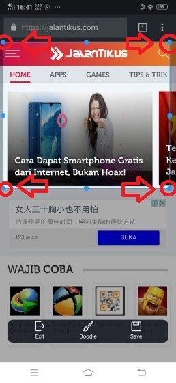 Cara Screenshot Vivo 8 9a26a