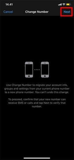 Cara Mengganti Nomor Whatsapp Tanpa Menghapus Chat Di Iphone C5f7a