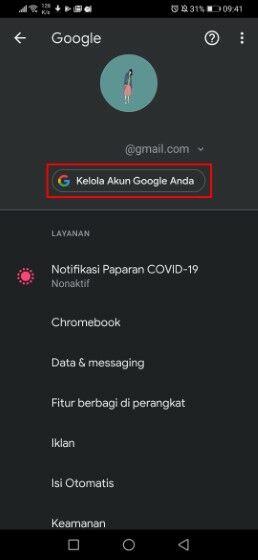 Cara Menghapus Foto Profil Gmail Hp Android 163ae