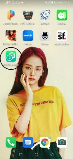 Cara Langkah Install Pasang Aplikasi Whatsapp Clone Apk Terbaru 2020 Wa Clone 1 Custom Da9e0