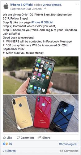 Waspada Jangan Tertipu Iming Iming Giveaway Smartphone Di Media