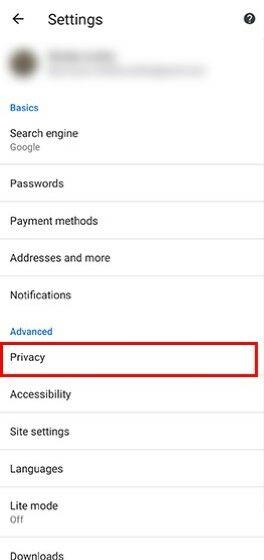 Langkah Dua Menghilangkan Saran Url Di Google Chrome Custom 37d47
