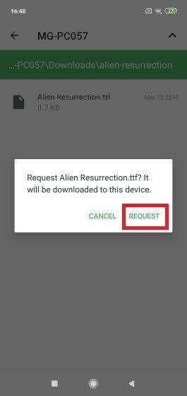 Cara Melihat Notifikasi HP Android Di PC Data Access 3 861e4