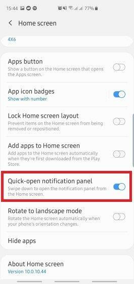 Fitur Tersembunyi One UI Samsung 5 0698c