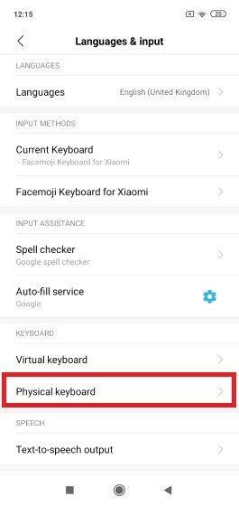 Cara Menggunakan Keyboard Fisik Di HP Fisik 2 E775e