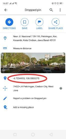Cara Mencari Titik Koordinat Di Google Maps Pc 50697