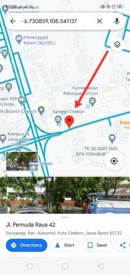 Cara Melihat Rumah Kita Di Google Maps C69ab