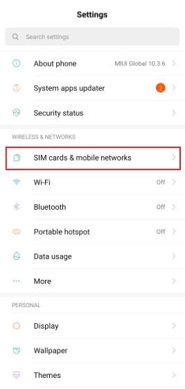 Cara Mengatasi Network Not Available Langkah Satu Custom 77330