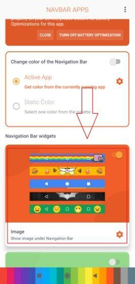 Cara Mengubah Background Navigasi Bar Android Langkah Satu 3c26b