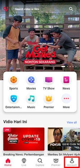 Cara Nonton Streaming Gratis Di Vidio 3d6ce