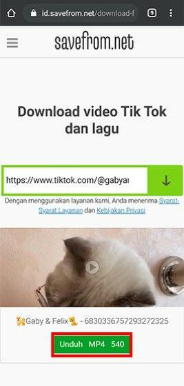 Cara Download Video Tiktok 8f7a6