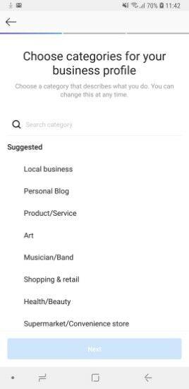 Akun Profile Bisnis IG 9414f