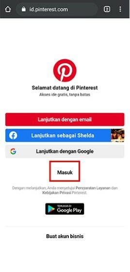 Cara Menyimpan Gambar Dari Pinterest Ke Galeri Hp Iphone A7183