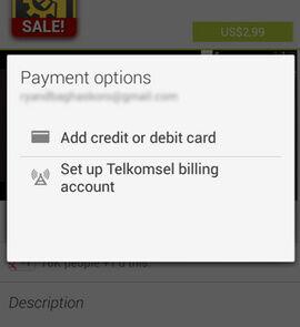 Beli Apps Di Google Play Dengan Pulsa