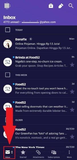 Memulihkan Email Yang Terhapus Di Yahoo 1da6e