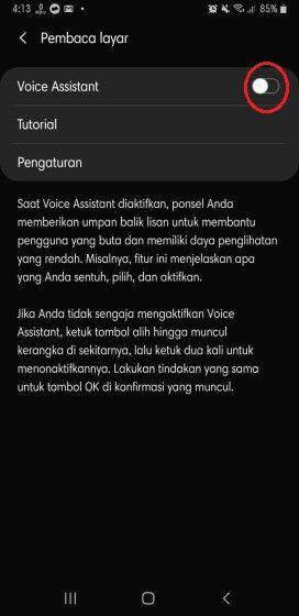 Google Talkback Android Indonesia Samsung 2f035