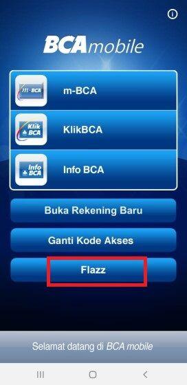 Cara Top Up Flazz Via Mbanking Bca Aplikasi C6b5d