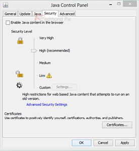 Cara Mematikan Java Di IE 2