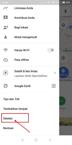 Cara Menghindari Jalur Ganjil Genap Dengan Google Maps 2 E5ac5