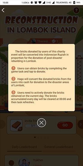 Cara Sumbang Gempa Lombok Dengan Main Game 4 90250