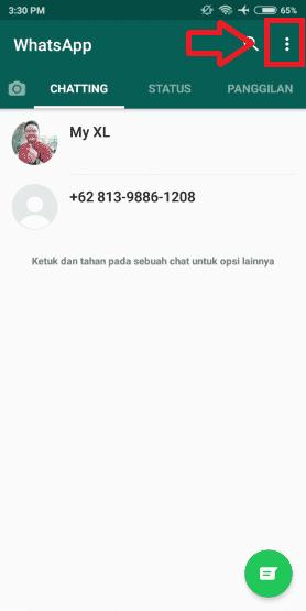 Cara Whatsapp Tidak Terlihat Online 8a949