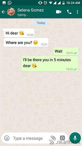 Cara Membuat Chat Whatsapp Palsu 8