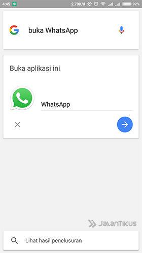 Langkah 5 - Cara Mengirim Pesan WhatsApp Tanpa Menyentuh Keyboard