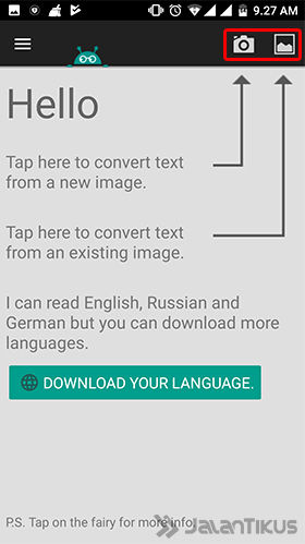 Cara Scan Dokumen Di Android Ocr Text Scanner 3